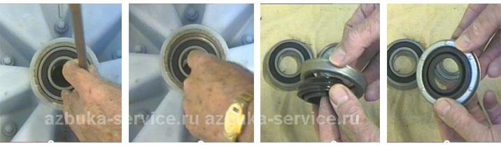 Водопровод в своем доЗамена подшипника в стиральной