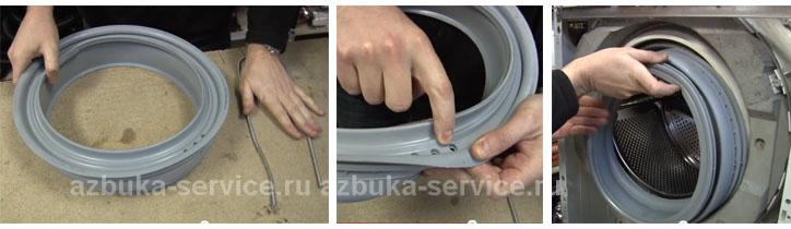 Замена манжеты стиральной машины lg своими руками