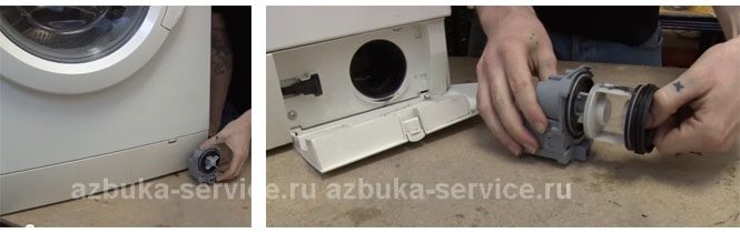 Замена насоса в стиральной машине самсунг своими руками