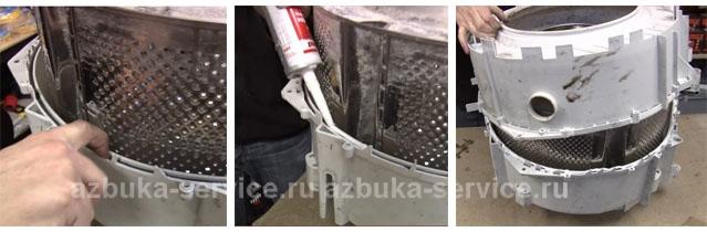 Сборку стиральной машины bosch бош