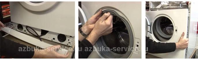 Замена тена на стиральной машине индезит